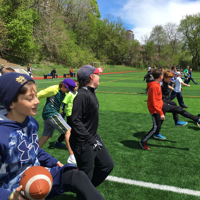 Flag Football Camps & Clinics